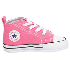 Converse Toddlers Chuck Taylor Crib Shoes in Pink