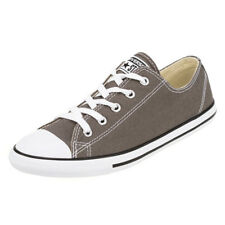 Converse Womens Dainty Canvas Shoes in Grey