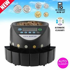 AUSTRALIAN COIN COUNTER SORTER AUTOMATIC MONEY COUNTING MACHINE DIGITAL BLACK KE
