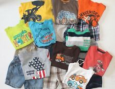 EUC Infant Boys 18 M Months Summer Clothing Lot T Shirts Shorts Mickey Mouse