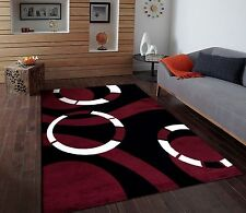 RUGS AREA RUGS CARPET FLOORING 1013 BLACK ABSTRACT CARPET LARGE NEW AREA RUG