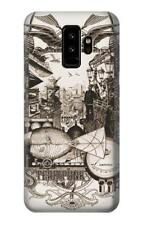 S1681 Steampunk Drawing Case For Samsung Galaxy S A E J Note