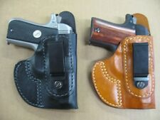 Azula Leather Tuckable In The Waist IWB Holster CCW For..Choose Gun Color - A