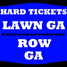 1-8 TIX MIRANDA LAMBERT 7/13 LAWN GA RIVERBEND MUSIC CENTER CINCINNATI