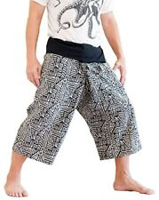 Thai Fisherman Pants Cotton With Printed Tribal Pattern Machine Washable