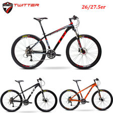 Mountain Bike SHIMANO 27s Hydraulic Disc Coil Suspension Aluminum Frame Bicycles