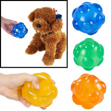 Pet Dog Puppy Cat Play Chew Training Interactive Rubber Ball Toy Sound Squeaky