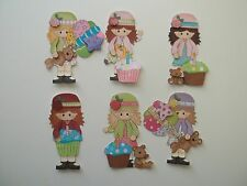 3D-U Pick-BD6 Birthday Boy Girl Cake Balloons Scrapbook Paper Card Embellishment