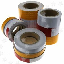1 Roll Self-Adhesive Reflective Safety Warning Caution Conspicuity Roll Tape