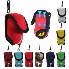 Mini Golf Ball Bag Golf Tees Holder Pouch with Belt Clip for Training Practice