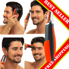 2 In 1 Mustache : Male Switchblade Electric Shaver Grooming Remover Hair Trimmer