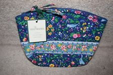 Vera Bradley, French Blue Small Cosmetic Make-up Purse Bag Lined-NWT!