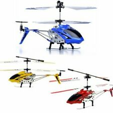 Syma S107G Phantom 3.5CH Mini Metal Remote Control RC Helicopter GYRO Red
