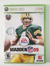 Madden 09 (Xbox 360) - Complete w/ Manual and Box
