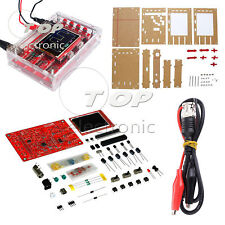 "DSO138 2.4"" TFT Digital Oscilloscope SMD Soldered Acrylic Case DIY Kit"