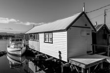 House Boat by Andrew Wilson Seascape Print