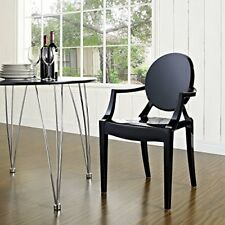 Philippe Starck LOUIS GHOST Chair Armrests Design Kartell Chairs Office Dining