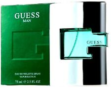 GUESS MAN Cologne Perfume For Men 2.5 oz 75ml Edt Spray 100% Original NEW IN BOX