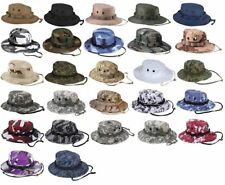 Boonie Hat Military Style Wide Brim Bucket Hat Bush Hat Boonie Hat