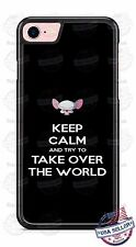 Funny Keep Calm - take over the world Phone Case Cover for iPhone 7 Samsung etc