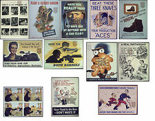 3rd Large selection of High quality World War II Posters WW2 (boost moral)