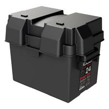 Snap-Top Battery Box For Automotive Marine & RV Batteries HM300BKS Group 24 New