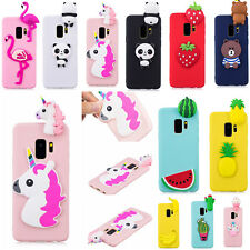 New 3D Cases For Samsung Galaxy Phones Silicone Phone Back Case Cover Skin Shell
