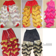 Hot New Lion Dance Outfits Chinese Folk Art Lion Dance Pants Adults Size Costume