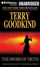 THE SWORD OF TRUTH BOX SET # 3 unabridged on MP3 CD - TERRY GOODKIND - 72 Hours!