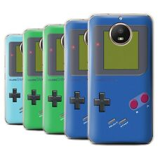 STUFF4 Back Case/Cover/Skin for Motorola Moto E4 Plus 2017/Video Gamer/Gameboy
