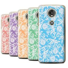 STUFF4 Back Case/Cover/Skin for Motorola Moto E5 Plus 2018/Floral Pattern