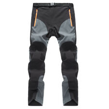 Mens Quick Dry Outdoor Hiking Long Pants Trousers Refreshing & Comfortable
