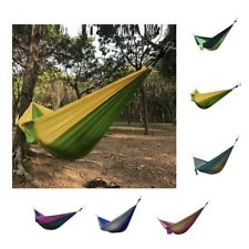 Portable Parachute Nylon Double Person Hammock for Camping Outdoor Travel