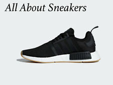 "Adidas NMD R1 ""CORE BLACK / CORE BLACK / GUM 3"" Men's Trainers All Size 062106"