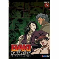 BAKI THE GRAPPLER ROUND 5 YOUNG CHAMPION DVD