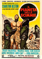 Planet Of The Apes 1968 Italian Movie Poster