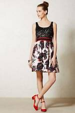 Anthropologie Peter Som Brushstroke Blossoms Dress 10 Made in Kind $298 M lace