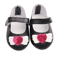 Cute Angel Wing Design Sandals Shoes for 18inch American Girl Doll Dress Up