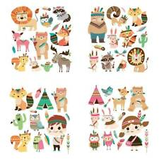 Animals Iron On Appliques Heat Transfer Stickers DIY Printing Clothes Patches