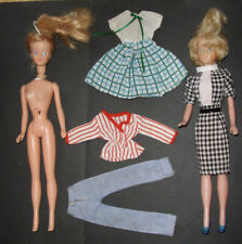 Vintage Tressy doll in Check Mate + extra clothes + spare and repair Tressy doll