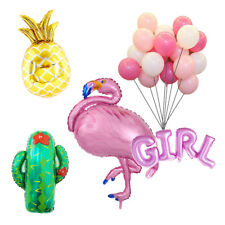 Flamingo Boy Girl Pineapple Cactus Balloons Baby Shower Party Decoration