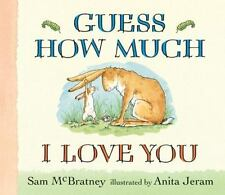Guess How Much I Love You: Guess How Much I Love You Lap-Size Board Book by Sam…