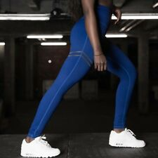 Women High Waist Gym Yoga Trousers Leggings Fitness Stretch Sports Running Pants