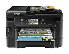 Epson WorkForce WF-3540 All-In-One Inkjet Printer - Copy, fax, scan, print