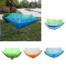 Portable Parachute Hammock Outdoor Travel Beach Camping Swing Hanging Bed