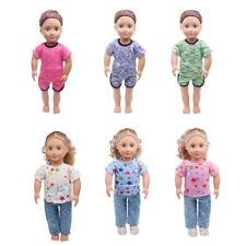 Sports Clothes Shirt Jeans Clothes for 18inch American Girl Our Generation Doll