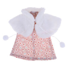 "Adorable Doll Cape Dress Set for 18"" American Girl Doll Clothes Accessories"