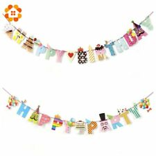 DIYHouse® Happy Party/Birthday Paper Flag Party Bell Garland Decoration Banner