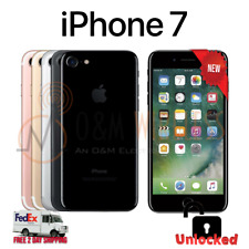New Apple iPhone 7 GSM Unlocked 32GB 128GB 256GB AT&T TMobile All Colors