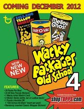 2012 Topps Wacky Packages Old School 4 Trading Cards Stickers Pick Build Set Lot